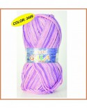 Ovillo 100grs lana GALA color GRIS PLATA