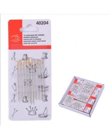 30 agujas de coser
