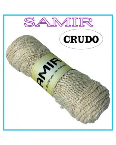 Algodón fibrana poliamida Samir 80grs